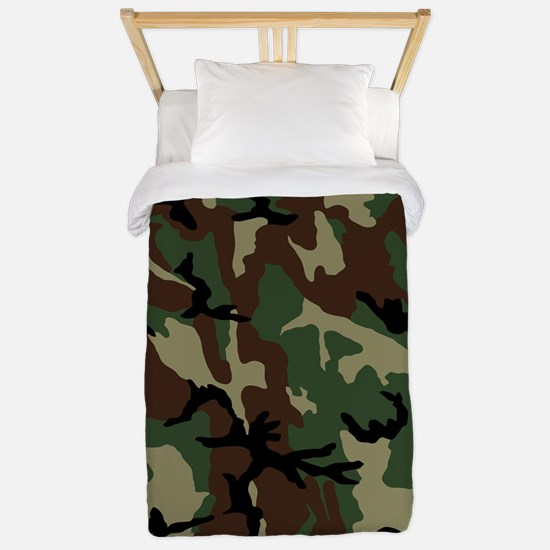 camo-green_ff Twin Duvet
