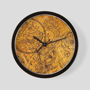 clockwork-collage_ff Wall Clock