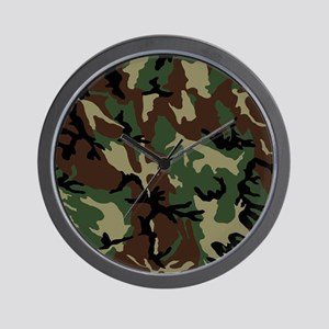 camo-green_ff Wall Clock