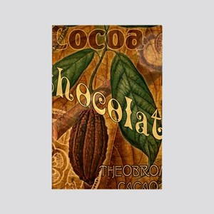 chocolate-collage_ff Rectangle Magnet