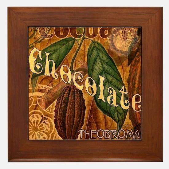 chocolate-collage_ff Framed Tile