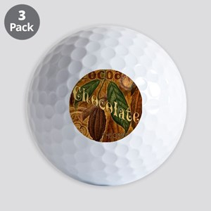 chocolate-collage_ff Golf Balls