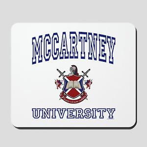 MCCARTNEY University Mousepad