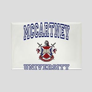 MCCARTNEY University Rectangle Magnet