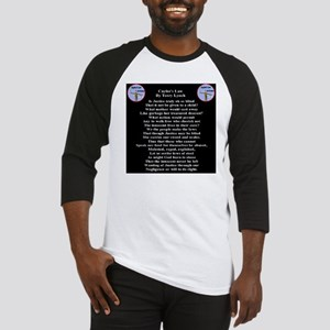 caylees_law_poem_terrylynch_invers Baseball Jersey