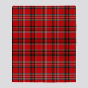 plaid-tartan_ff Throw Blanket