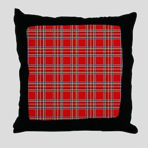 plaid-tartan_ff Throw Pillow