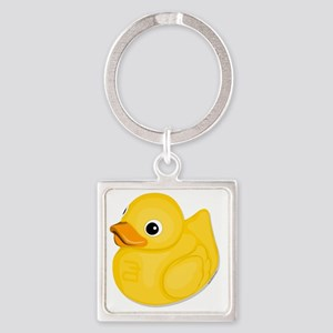 rubberduck-logo Square Keychain
