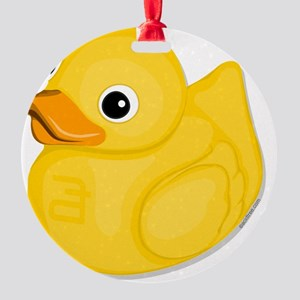 rubberduck-logo Round Ornament