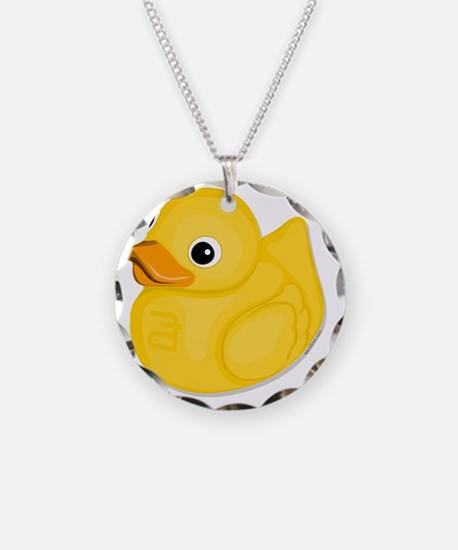 rubberduck-logo Necklace