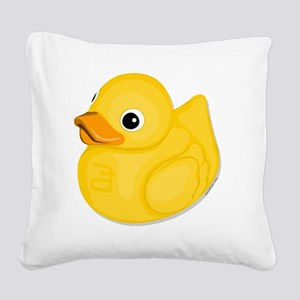 rubberduck-logo Square Canvas Pillow