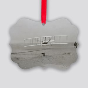 first flight 14x10 Picture Ornament