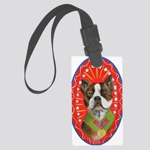 stubbyplaqueclear Large Luggage Tag