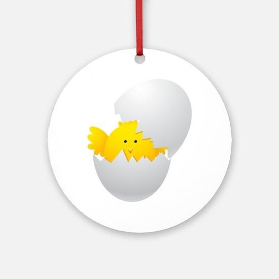 egg Round Ornament