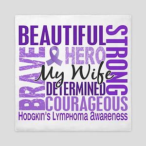 D Tribute Square Wife Hodgkins Lymphom Queen Duvet