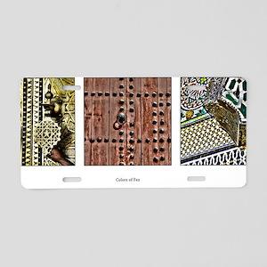 colorsfez Aluminum License Plate