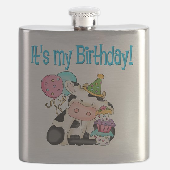 birthday cow Flask