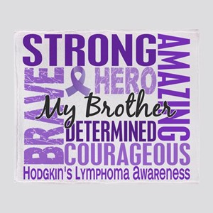 D Tribute Square Brother Hodgkins Ly Throw Blanket