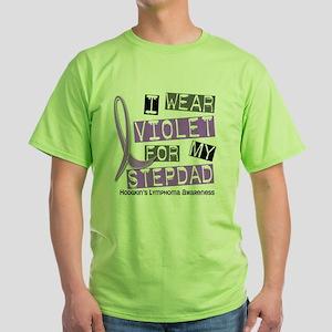 D I Wear Violet Stepdad 37 Hodgkins  Green T-Shirt