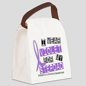D I Wear Violet Stepdad 37 Hodgki Canvas Lunch Bag