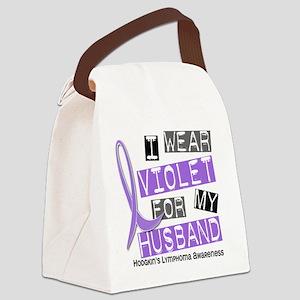 D I Wear Violet Husband 37 Hodgki Canvas Lunch Bag