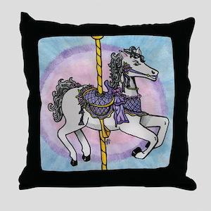 horsey2 Throw Pillow