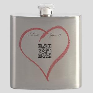I Love You QR Code Flask