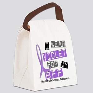 D I Wear Violet BFF 37 Hodgkins L Canvas Lunch Bag