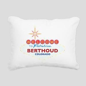 BERTHOUD DARK Rectangular Canvas Pillow