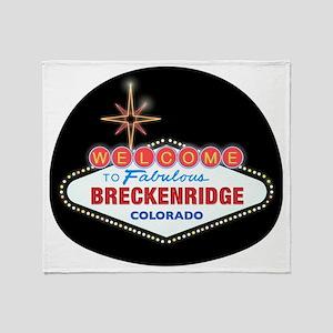 BRECKENRIDGE LIGHT Throw Blanket