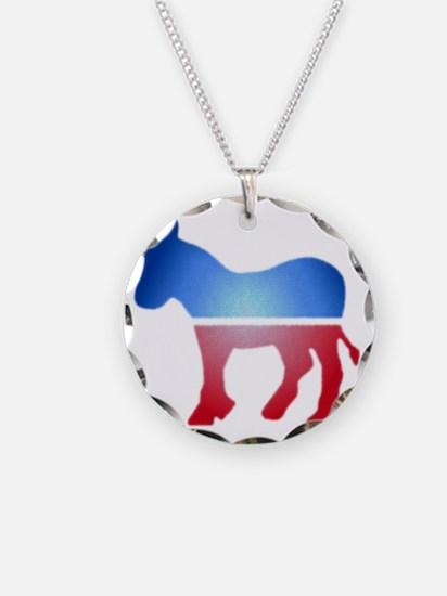 blurrydonkey Necklace Circle Charm