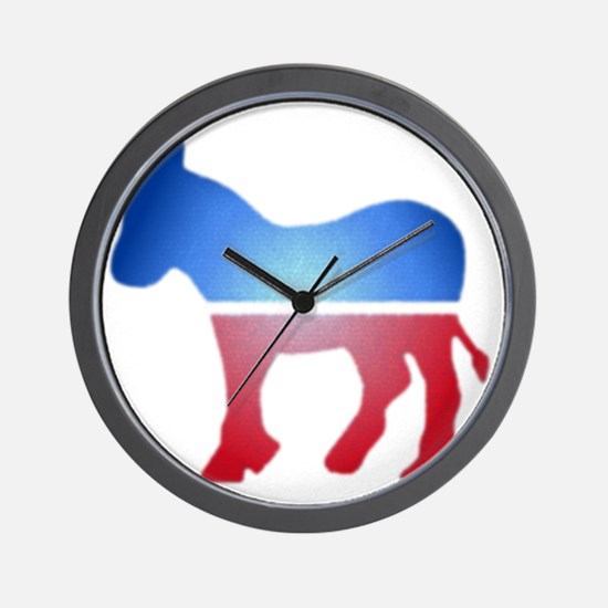 blurrydonkey Wall Clock