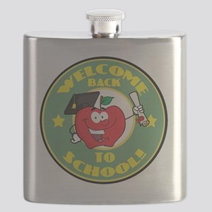back to school apple Flask
