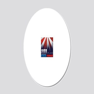 911-Abstract-CDR-2ee 20x12 Oval Wall Decal