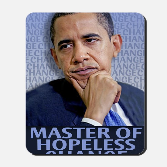 Master of Hopeless Change Mousepad