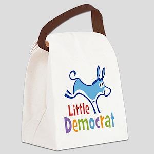 LittleDemocratLD Canvas Lunch Bag