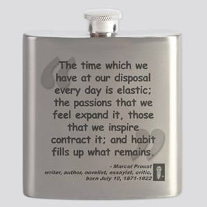 Proust Time Quote Flask