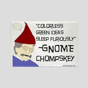 Gnome Chompskey Rectangle Magnet