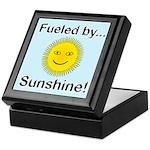 Fueled by Sunshine Keepsake Box