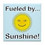 Fueled by Sunshine Tile Coaster