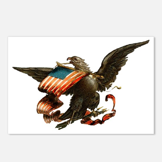 American Eagle Postcards (Package of 8)