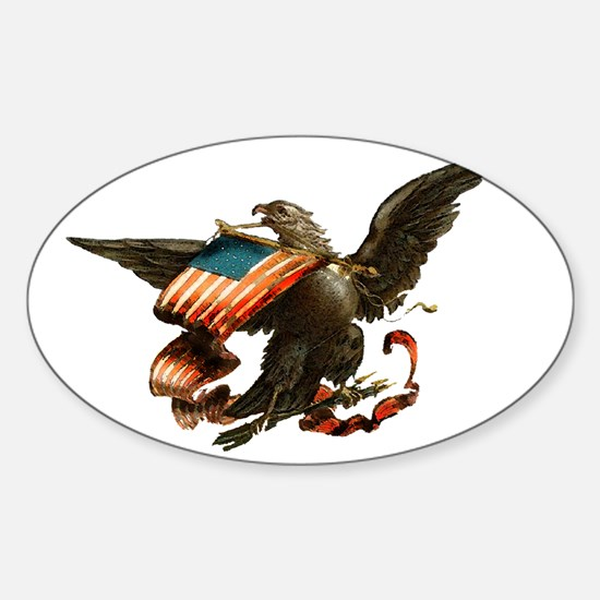 American Eagle Sticker (Oval)