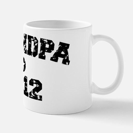 grandpa 2012hat Mug