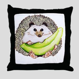 Cafepress Honeydew Hedgehog Throw Pillow