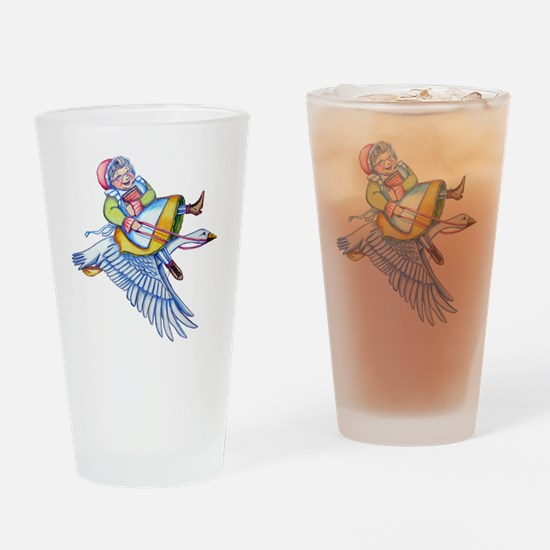 CafePressMotherGoose Drinking Glass