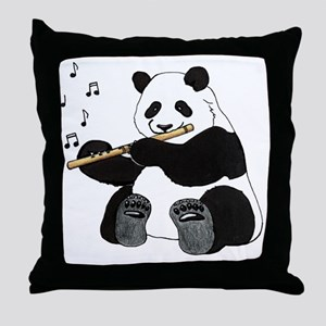 cafepress panda1 Throw Pillow