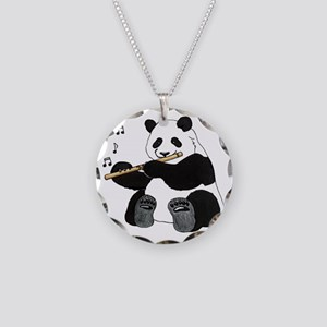 cafepress panda1 Necklace Circle Charm