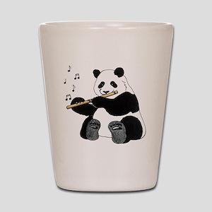 cafepress panda1 Shot Glass