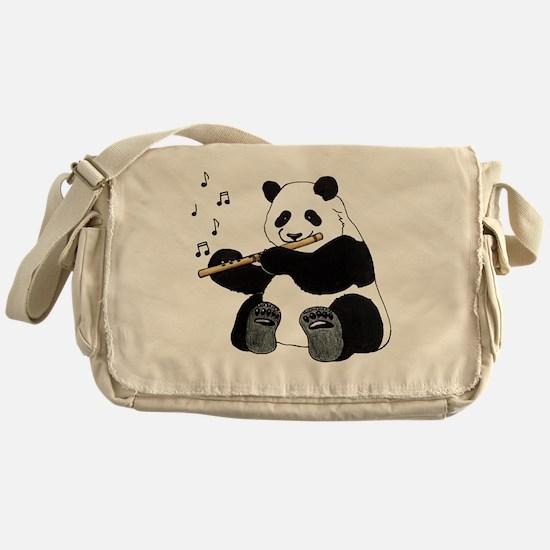 cafepress panda1 Messenger Bag