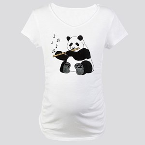 cafepress panda1 Maternity T-Shirt
